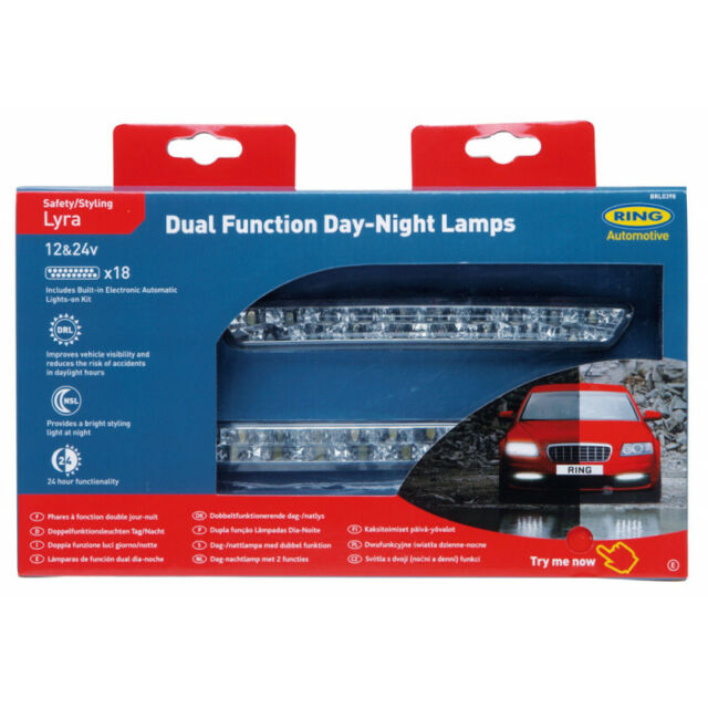 FBRL0398 RING DRL/DSL LUCI 18 LED OMOLOGATE 24H SU 24