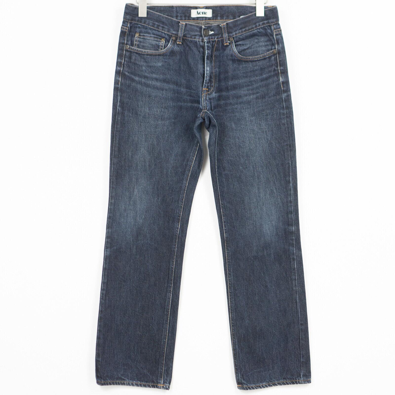 Acne Mic Rigid Jeans Regulär Gerade Herren Größe W33 L32