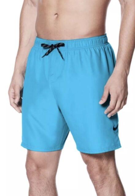 "65375c1e4a Nike 7"" Vital Volley Swim Shorts Light Blue Trunks Men's Size XXL, 2XL -"