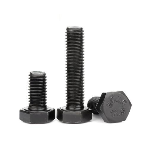 High Tensile 12.9 M16 M18 M20 Hex Hexagon Head Set Screw Bolts DIN933 Fastener