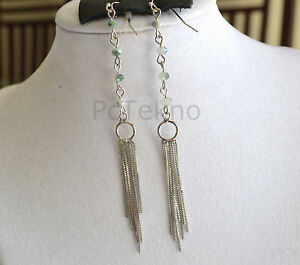 b3ac4c17c Image is loading Urban-Outfitters-Silver-Tone-Reflective-Beads-Fringe-Drop-