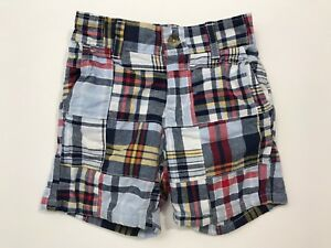 Clothing, Shoes & Accessories Janie And Jack High Sea Style Plaid Madras Shorts Size 6-12 Months