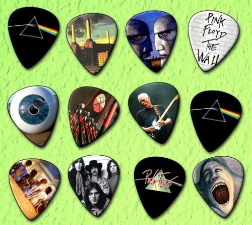 PINK FLOYD GUITAR PLECTRUM PICKS 0.71MM LIMITED EDITION