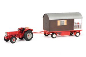 Schuco Güldner G75A with Showmen Dare Red Red Red Tractor 1 3 2 Item 450778500 9f30b6