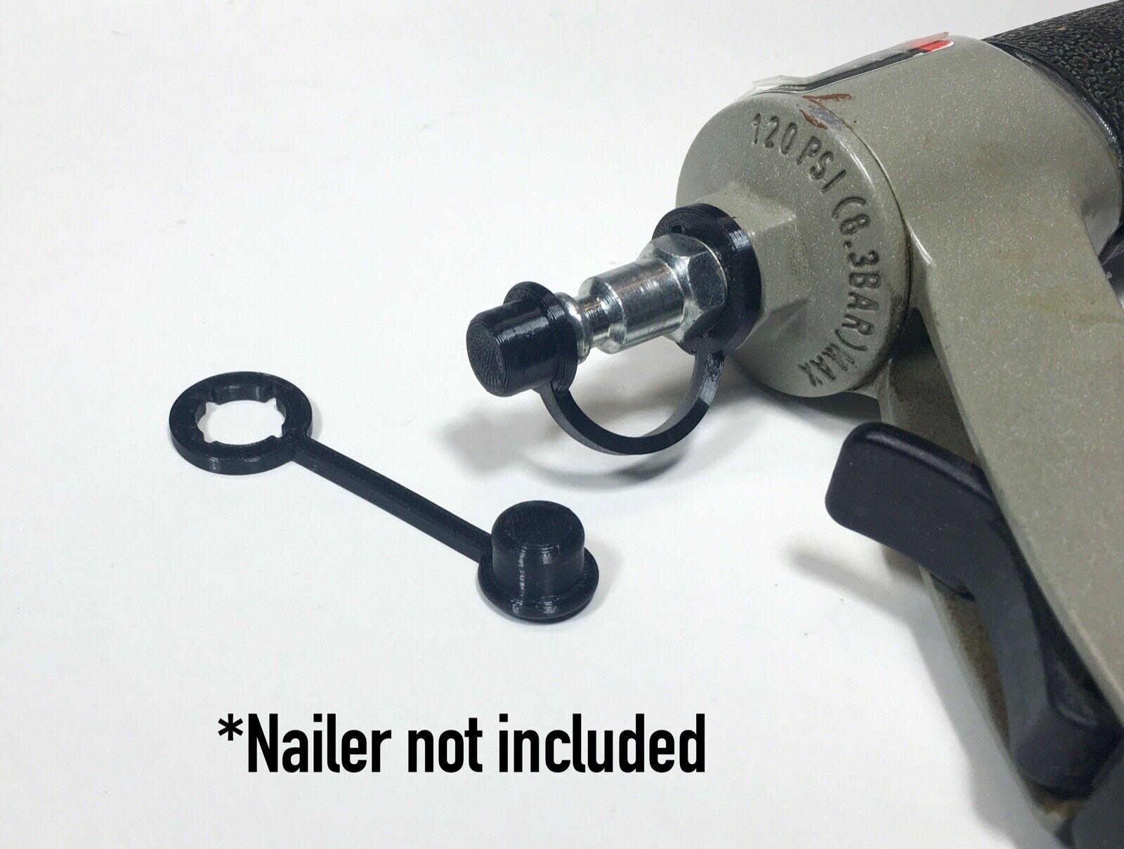 884443 mvgolfclub 3, 5 or 10  PACKS - IMPROVED Dust Cover Cap for Air Gun Nailer Stapler 1/4 NPT