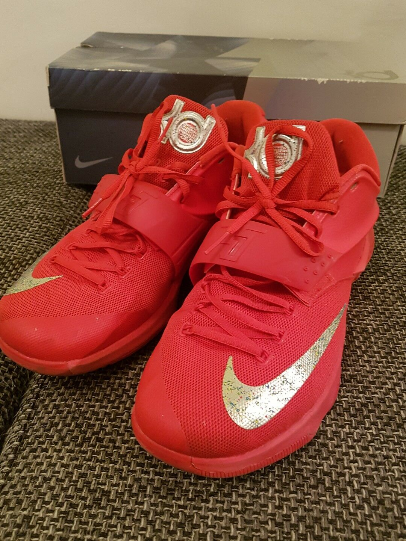 Nike KD VII Rot/Silber Gr 47,5