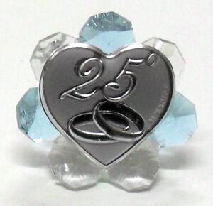 Bomboniera icona per 25 anniversario di matrimonio con for Video anniversario 25 anni di matrimonio