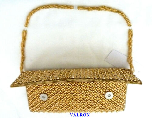 CLUTCH BAG ALSO IDEAL WEDDINGS OR SPECIAL ELEGANT LADIES BEADED EVENING