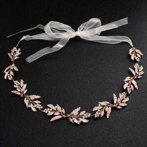 Crystal-Tiara-Bride-Pearl-Bridal-Hair-Rhinestone-Crown-Headband-Pageants-Wedding