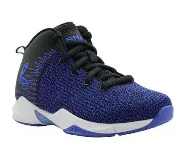What Is Shaq S Shoe Size.Shaq Shaquille Oneal Boys Athletic Knit Shoe Size 3 Blue