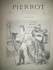 LE-PIERROT-HEBDOMADAIRE-HUMOUR-ILLUSTRe-PAR-ADOLPHE-WILLETTE-BISMARCK-1889-N-2