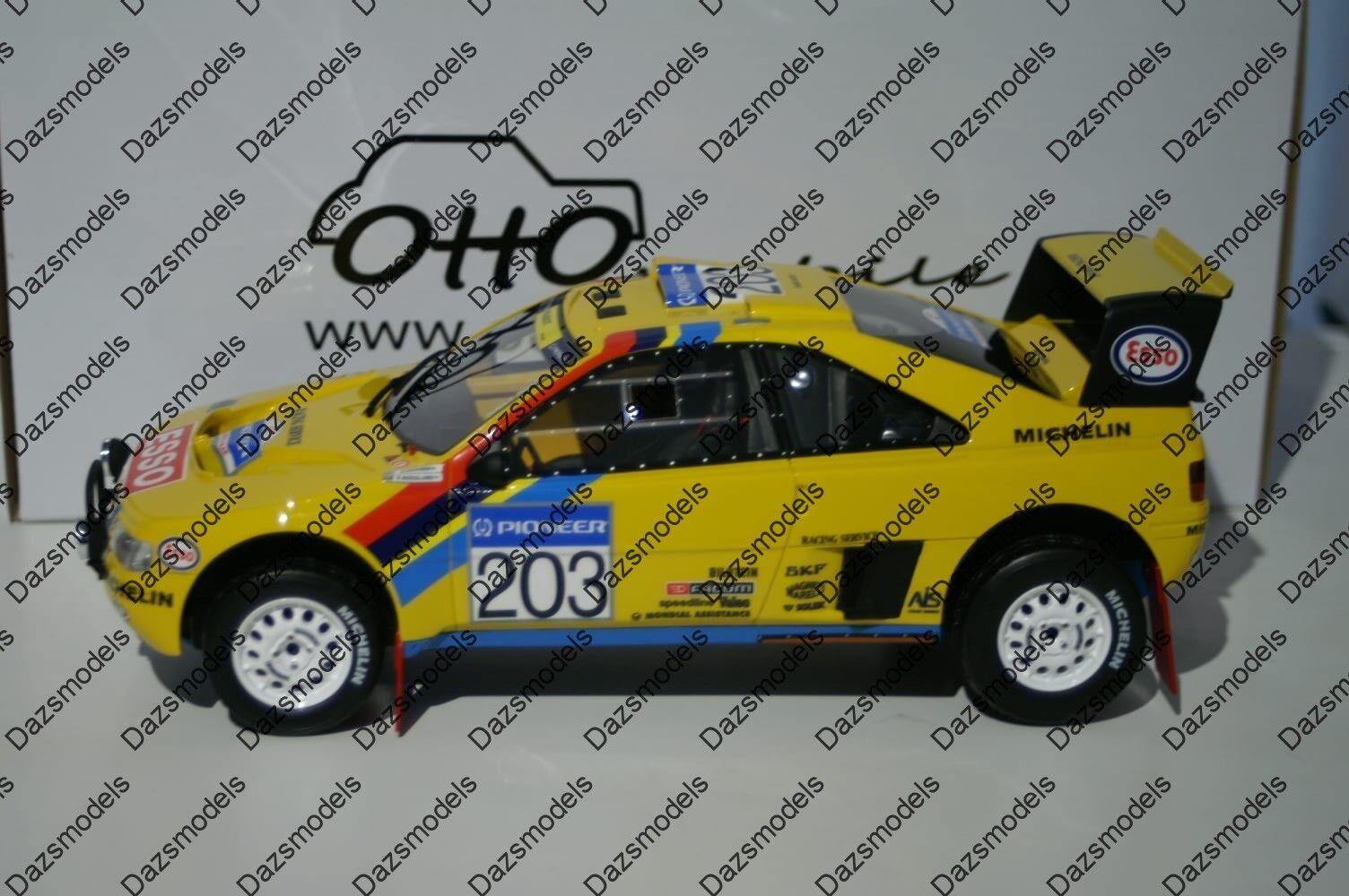 Otto Peugeot 405 T16 grand raid Ltd 2000 Résine  1 18 Voiture OT532  pas cher en ligne