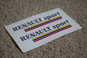 Renault-Sport-Motorsport-racing-car-F1-GP-RALLYE-ALPINE-CLIO-autocollant-autocollant-50-mm