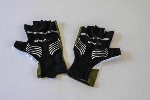 White Size M New 2017 Men/'s Craft Team Novo Nordisk Tresiba EBC Aero TT Gloves
