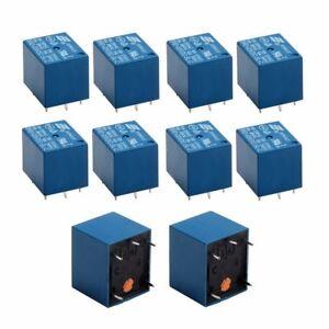 10x 3V DC 10A SRD-03VDC-SL-C Mini Power Relay Relay PCB Module Power Relay