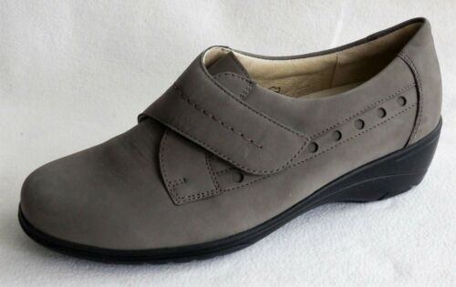 Rôdeur Velcro Chaussures Basses taupe Largeur H Taille 35,5 37
