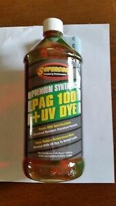 Details about Supercool PAG 100 Oil with UV Dye 32 oz  Bottle
