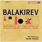 Mily Balakirev - Balakirev: Symphonies Nos. 1 & 2; Piano Concerto, Op. 1; King Lear Overture; In Bohemia; Tamara (2005)