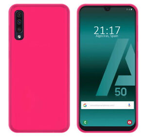 Cover-Gel-TPU-per-Samsung-Galaxy-A50-A50s-A30s-Colore-Rosa