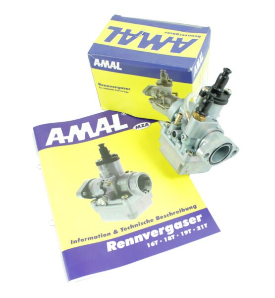 Amal Racing Carburatore 21t Simson S51 S70 Sr50 S53 Sr80 Kr51 Schwalbe Star Fabbricazione Abile