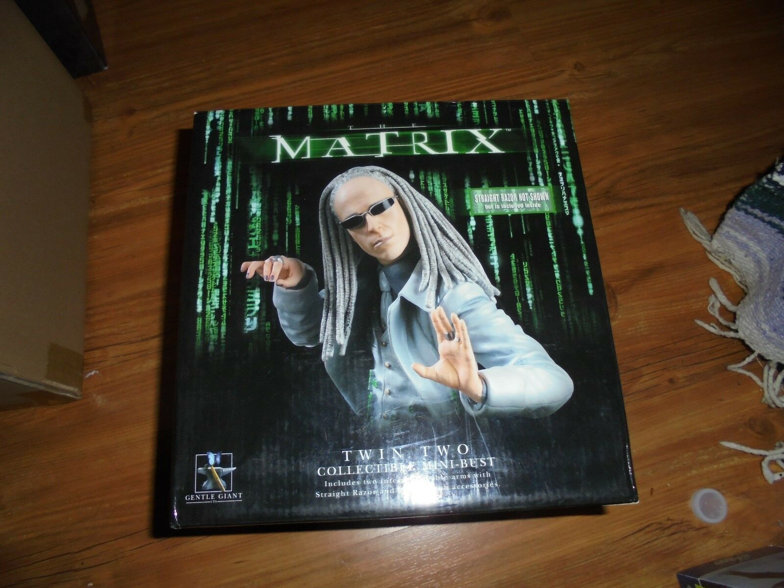 MATRIX Reloaded  TWIN TWO  Collectible Mini-Bust Gentle Giant 2003