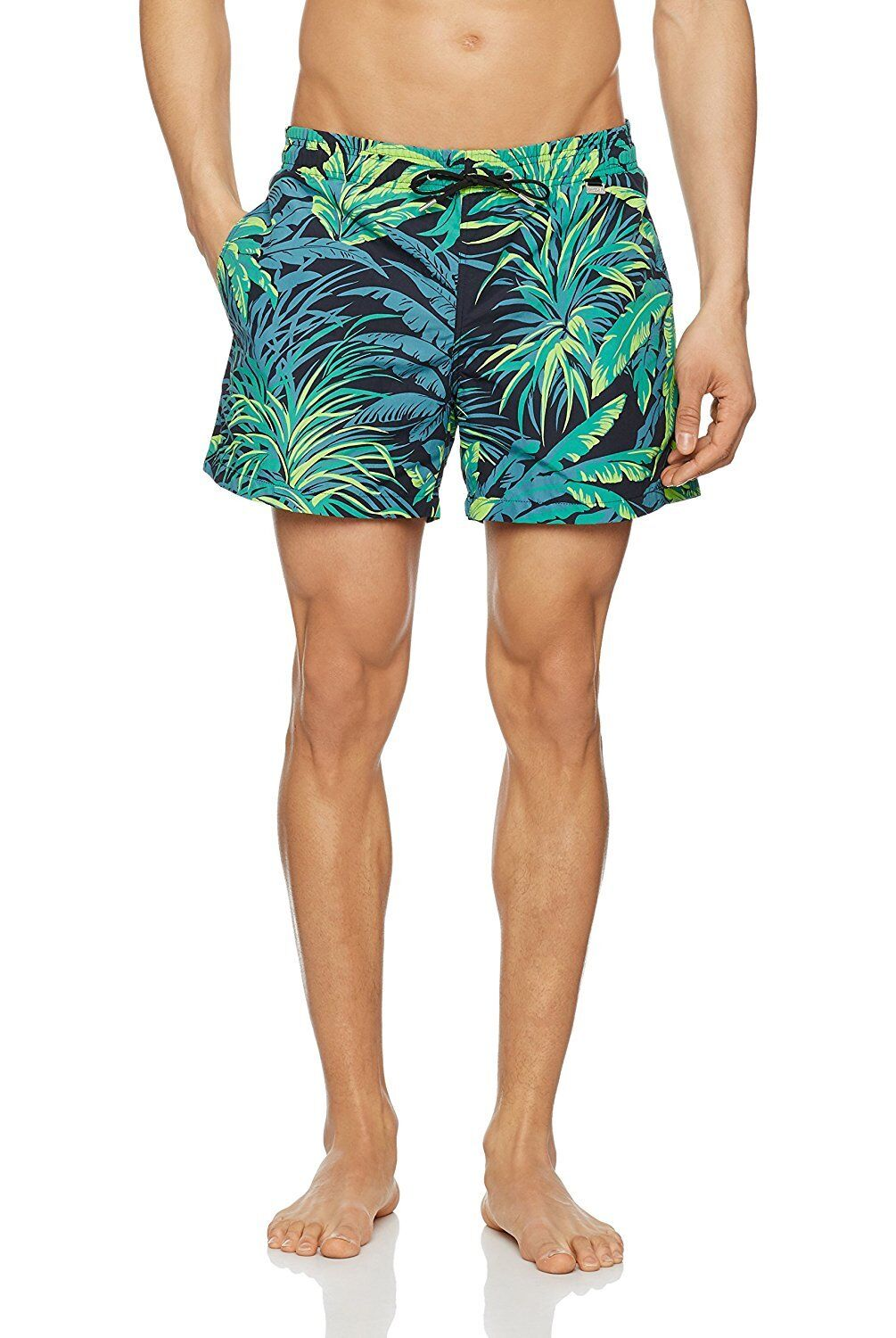 HOM swimming shorts board patterned lined Palmier beach pool sexy trunks summer