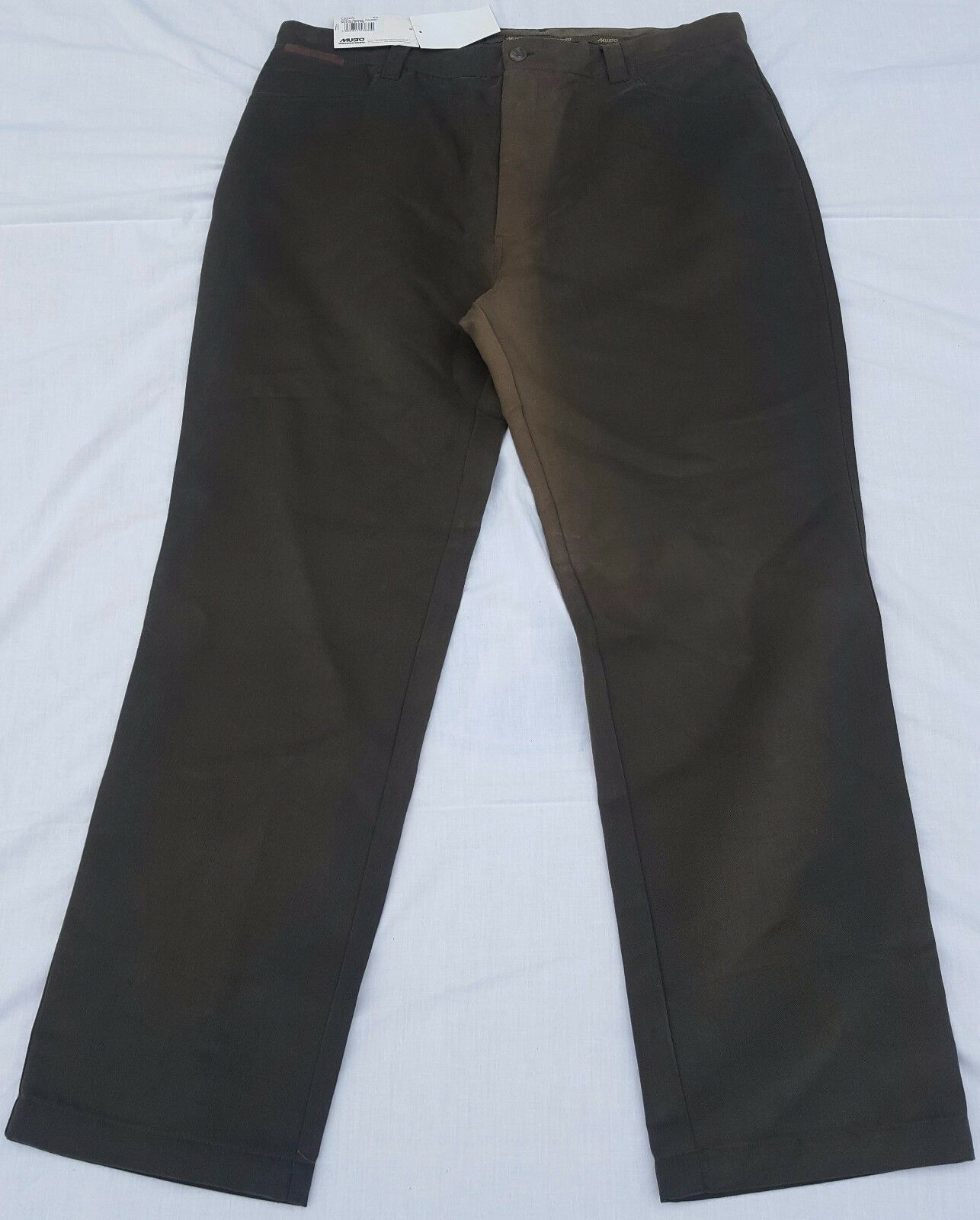 SHOP SOILED Musto Mens Country Technical Trousers Dark Olive Size 40 Regular