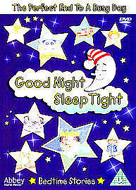 Details about GOOD NIGHT SLEEP TIGHT 8 YOUNG CHILDRENS KIDS CHILDS BEDTIME  STORIES NEW UK DVD