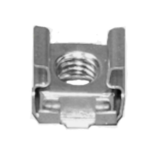 """50 Pack #8-32 Self-Retaining Cage Nuts 3//8/"""" Panel Hole Size     BFC7931-832"""
