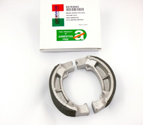 KR Bremsbacken Satz KAWASAKI KE 175 D 79-82 .. Brake Shoe Set rear 120 X 35 mm