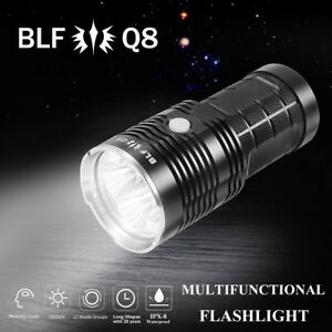 BLF Q8 5000LM Professional Multiple Operation Super Bright LED ...