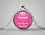 Friendship Is A Million Little Things Tibet Silver Pendant Chain Necklace#EB13