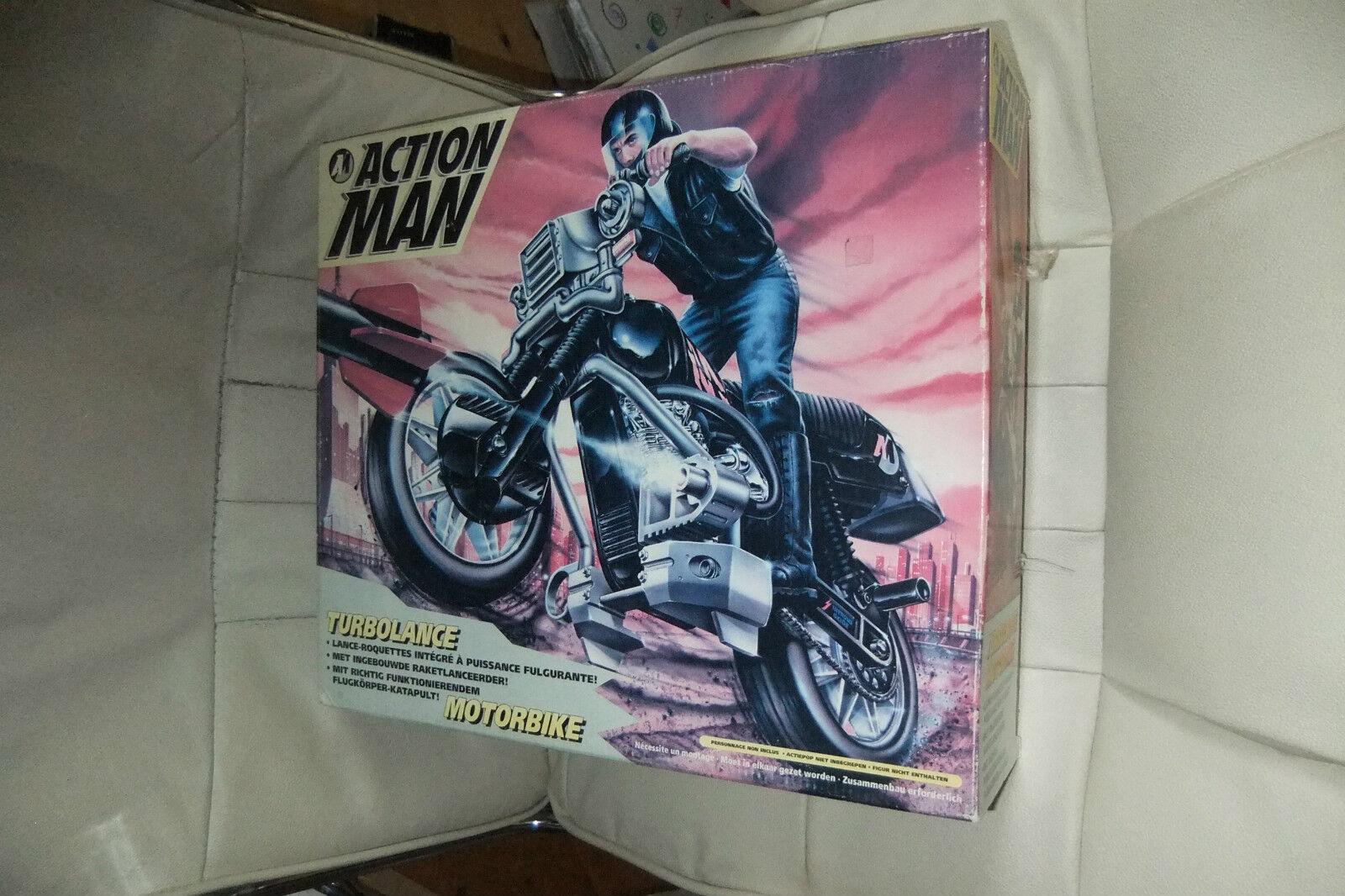 1994 Mib Mosc Moc Acción Gi Joe equipo Hombre turbolance Moto Hasbro