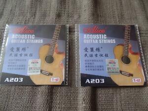 2 X Acoustique Premier E Corde De Guitare-calibre 011-publié En Première Classe Du Royaume-uni-afficher Le Titre D'origine