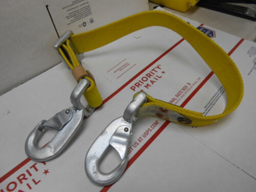 3NF Fall Protection Lanyard  Strap Workers Protective Gear Safety Rope NOS
