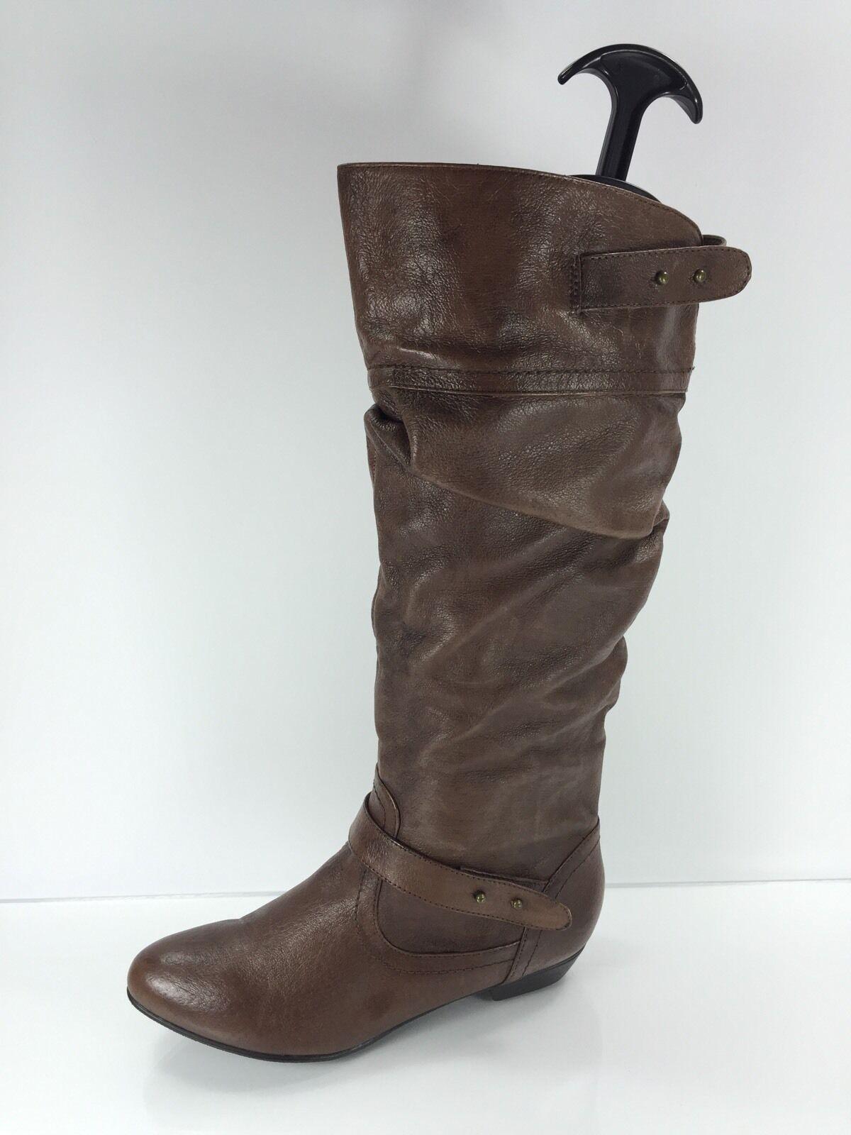 Steve Madden damen braun Leather Knee Stiefel 6 M