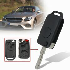 Flip Remote Key Fob Shell Case Uncut 1 Button For Mercedes-Benz C230