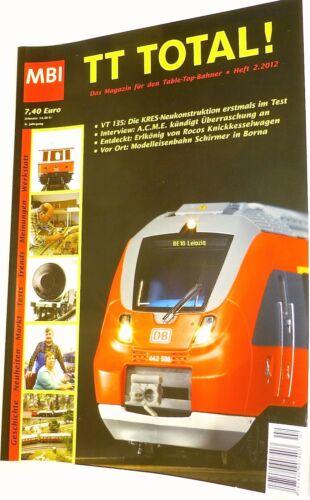 TT Total 6te Jahrgang Heft 2.2012 aus 2012 MBI  µ *