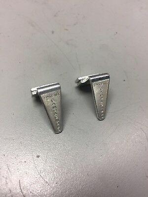 VINTAGE CAMPAGNOLO SET OF 2 TOE CLIP GUIDES NOS PEDAL RECORD