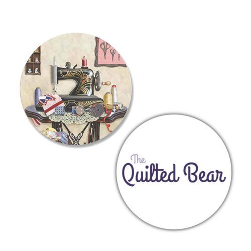 Quilted Bear rosiland Solomon Vintage Machine à coudre motif poids Lot de 4