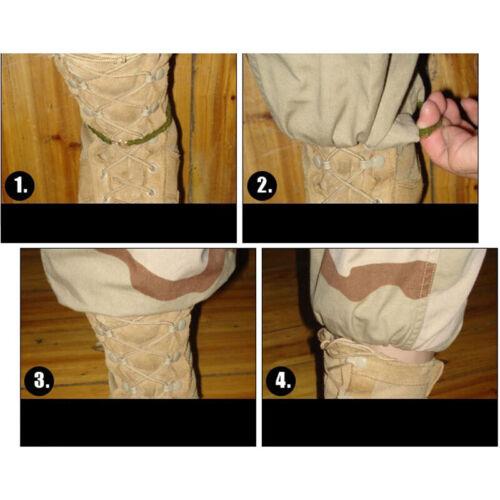 2X Leggings Elastic Rope Trouser Leg Strap Riding Boot Rubber Band~JPTSUK