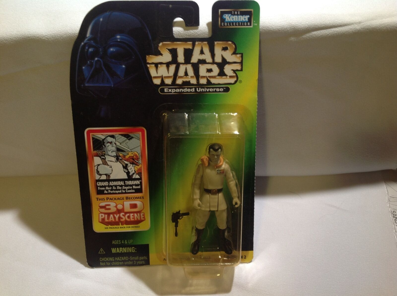 Star Wars Action Figure Figure Figure Expanded Universe Grand Admiral Thrawn 5517ee