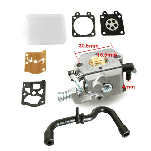 Carburettor Carb For STIHL 017 018 MS170 MS180 Gasoline Chainsaw With Fuel Line