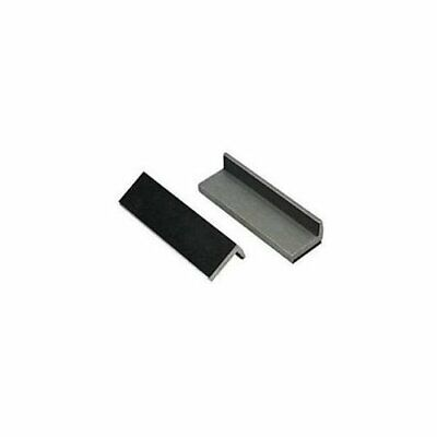Lisle 48100 Aluminum Rubber Faced Vise Jaw Pads For Protecting Delicate Parts