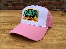 Bobos Beard Company Pink Trucker Baseball Cap Hat Baseball Women's Ladies