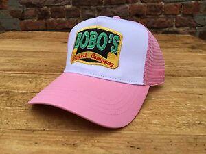 Bobos-Beard-Company-Pink-Trucker-Baseball-Cap-Hat-Baseball-Women-039-s-Ladies