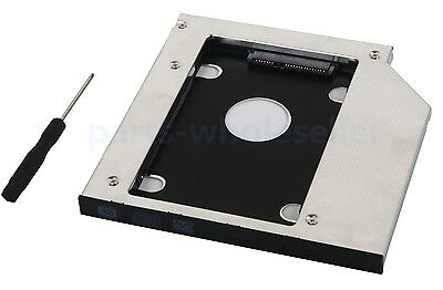 2nd Hard Drive SSD HDD Caddy for HP Envy m7-n109dx M7-K211DX M7-J120dx 17-j100
