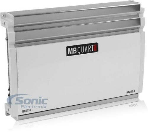 MB QUART NA360.4 360W RMS Nautic 4-Channel Marine Boat Audio Power Amplifier Amp