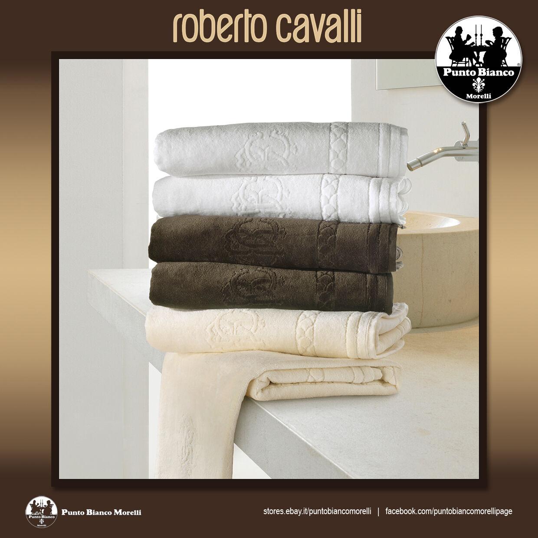 ROBERTO CAVALLI   VENEZIA Set spugna viso + ospite - Set terry towel 2 pieces