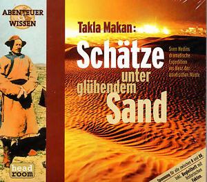 Abenteuer-amp-Wissen-Takla-Makan-Schaetze-unter-gluehendem-Sand-CD-NEU